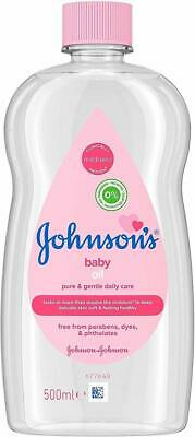 Johnson's - Baby Massage Oil Skin Soft and Healthy Pure, Jentle Daily Care 500ml