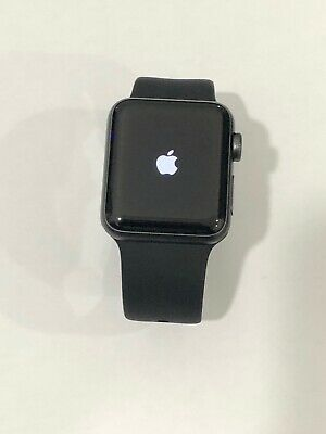 Apple Smart Watch Series 3 38mm (A1858) Space Gray 8gb GPS Please READ Icloud on