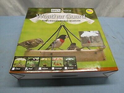 """Birds Choice Red Weather Guard 13"""""""