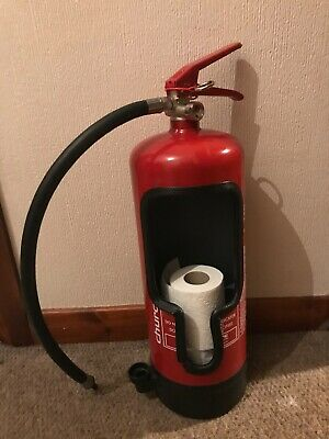 🧯🧯Fire Extinguisher Toilet Roll Holder Free Toilet Rolls And Next Day Delivery