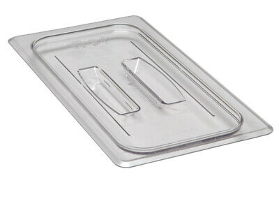 Camwear Food Pan Cover, 1/3 size, Polycarbonate Clear Plastic NSF, Cambro 30CWCH