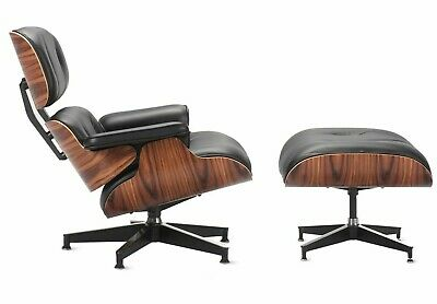 Authentic Herman Miller® Eames® Lounge Chair and Ottoman | DWR
