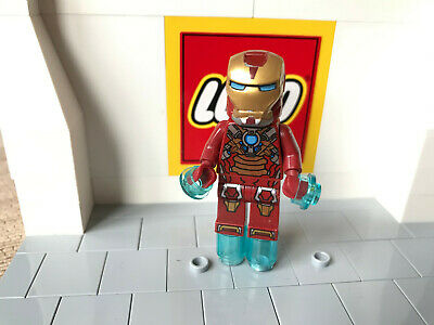 Lego Marvel Iron Man Heat Breaker Super Heroes Mini Figure Sh073 From Set 76008