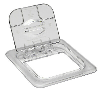 Camwear Food Lid Pan Cover 1/6, Polycarbonate Clear Plastic NSF, Cambro 60CWL