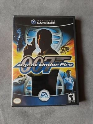 007 Agent Under Fire Game for Nintendo Gamecube