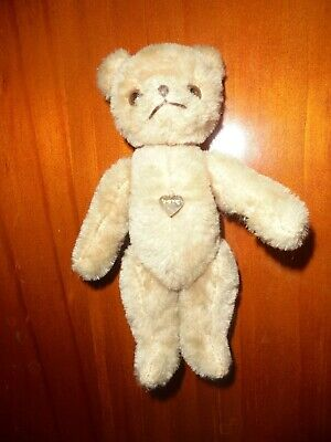 6 inch Vintage Mohair Berg bear with ID