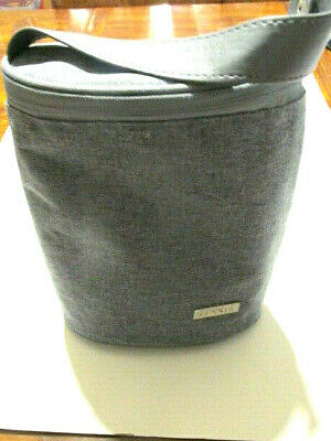 JJ Cole INSULATED Baby Bottle Cooler/Snap Handle/Heather