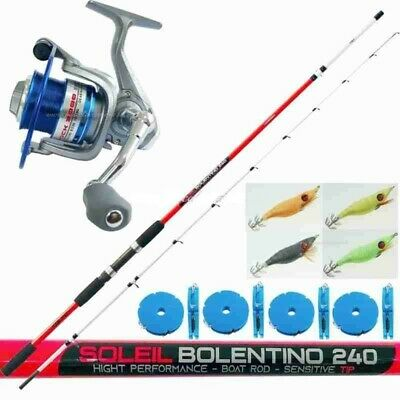 filo 4 misure PPG mulinello Mitchell Combo pesca spinning Gnt Pro canna