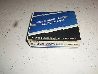 Elenco HT-200 Video Head Tester GREAT CONDITION