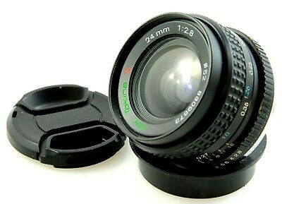 Pentax K Mount TOKINA RMC 24mm f2.8 Ultra Wide Angle, film or digital