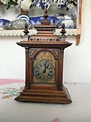 Black Forest Mantle Clock by Junghans