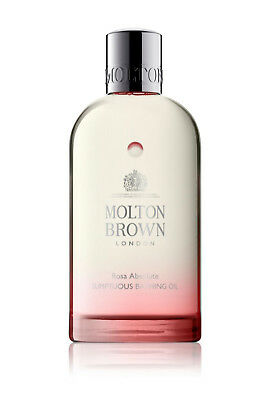 MOLTON BROWN Rosa Absolute Sumptuous Bathing Oil 200ml Brand New