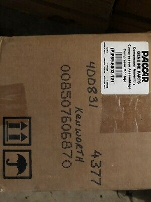 Paccar F69-6003-121 Ac Compressor Genuine In Box