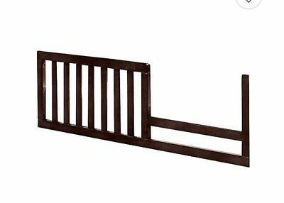 Westwood Design Harper  Toddler Guard Rail - Chocolate Mist Brown New In Box