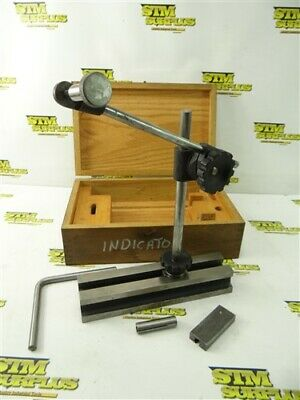 B.c. Ames Precision Indicator Stand Set No. 22 W/ Case