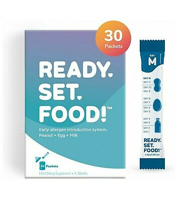 Ready Set Food! Early Allergen Introduction for Babies Infants - Stage 2 - NEW