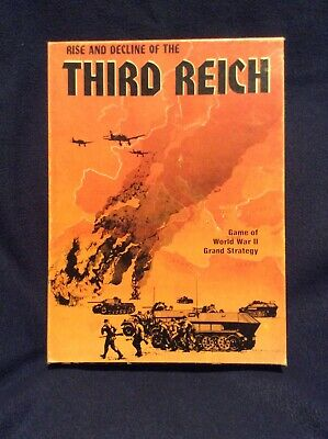 Rise and Decline of the Third Reich Avalon Hill Game of WWII Grand Strategy
