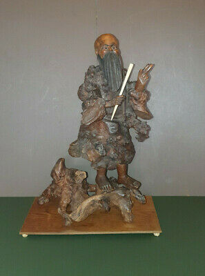 Antique Chinese Root Wood Figure