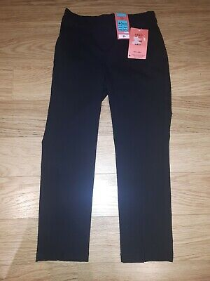 Boys MARKS AND SPENCER School Trousers - 4-5 Years Black BNWT - Slim Leg