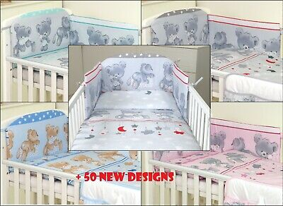 BABY BOY-BABY GIRL NURSERY BEDDING SET- FIT BED WITH MATTRESS 120X60 and 140X70
