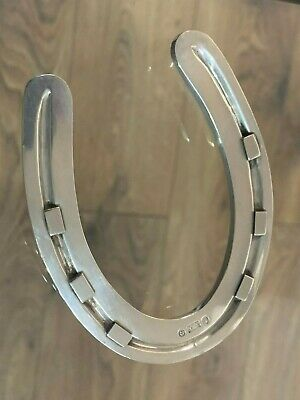 Antique Victorian Silver Novelty Victorian Horseshoe 42 Grams Thomas Turner?