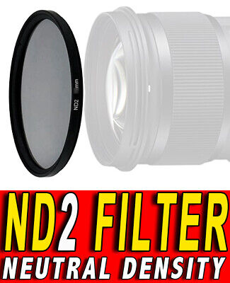 FILTRO NEUTRAL DENSITY ND2 FILTER ND 2 ADATTO A Samsung NX 12-24mm F4-5.6 ED 58M