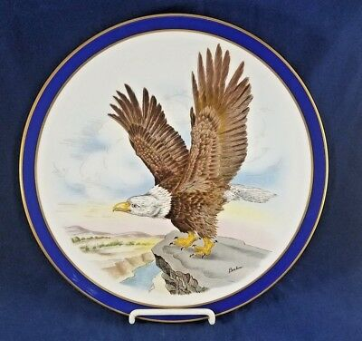Bohem The American Inaugural Collector Plate 40Th President 1981