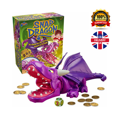 Snap Dragon Kids Action Board Game | Preschool Family Board Games For Kids, New