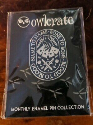 Owlcrate Book Box Pin January