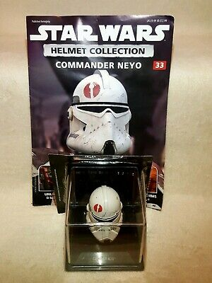 Commander Neyo Helmet 1:5 Collection Issue 33 Star Wars DeAgostini