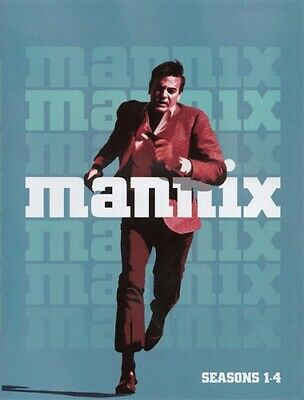 MANNIX TV SERIES SEASONS 1 2 3 4 New Sealed DVD 1-4 Mike Connors