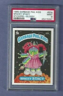 GARBAGE PAIL KIDS 1985 SERIES 2 # 63a SPACEY STACY PSA 9 GLOSSY
