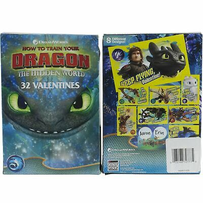 How To Train Your Dragon 32 Valentines Day Cards for School Class Kids Classroom