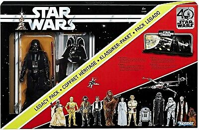 "2017 Star Wars Black Series 6"" 40th Anniversary DARTH VADER & Display Sealed NEW"