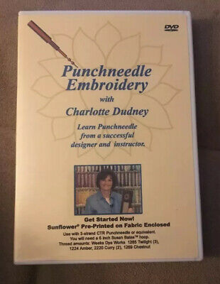 Punchneedle Embroidery With Charlotte Dudney DVD