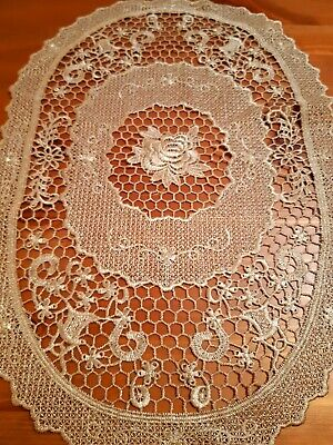 (Set Of 3-Oval) H/Crafted 30cm*45cm Placemats