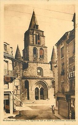 Cp St-Junien Eglise