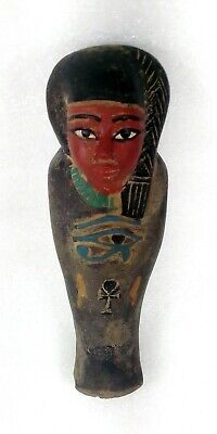 Rare Superb Egyptian Antique Female Ushabti Figure Priestess Or Princess