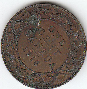 Canada Large Cent 1918