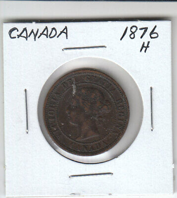 Canada Large Cent 1876H