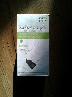 Baby Jogger Vue Single Stroller Car Seat Adapter