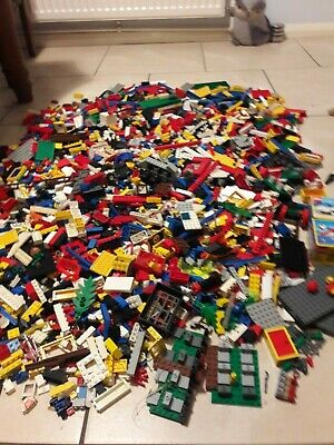 Large Collection Of Mixed Lego