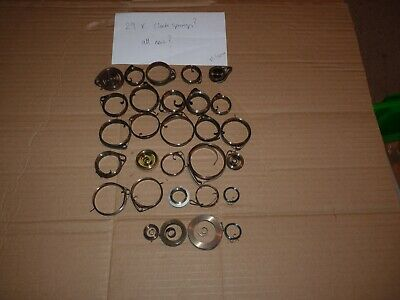 Clock Springs X 29  Various Sizes - To Clear