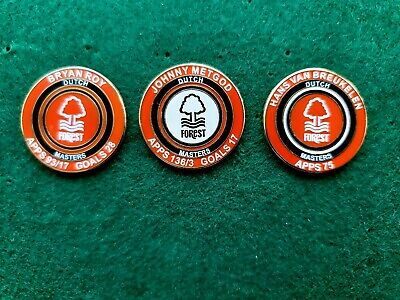 Dutch Masters Set of 3 NFFC Enamel Pin Badges this is for all 3 badges