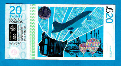 Bristol City Pound - Local Currency £20 1st Issue 2012 UNC