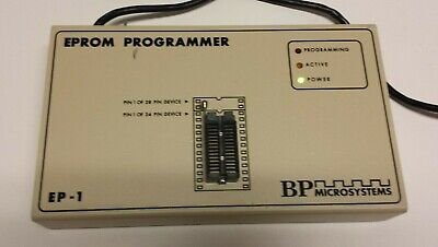 Vtg Bp Microsystems Emprom Programmer Ep-1 Free Shipping!