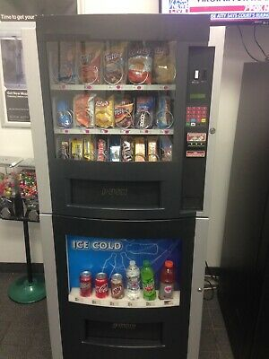 vending machines for sale.RS/800 Combo Machine .Holds Snacks Can And Bottle