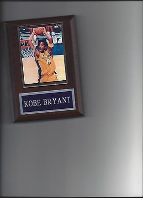 Kobe Bryant Plaque Los Angeles Lakers La Basketball Nba