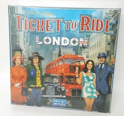 Brand New Factory Sealed Ticket To Ride - London Days Of Wonder