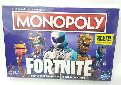 Brand New Factory Sealed Monopoly: Fortnite Edition Board Game